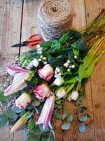 Florist Choice Romantic mix Aqua Bouquet (in water) starting from £35